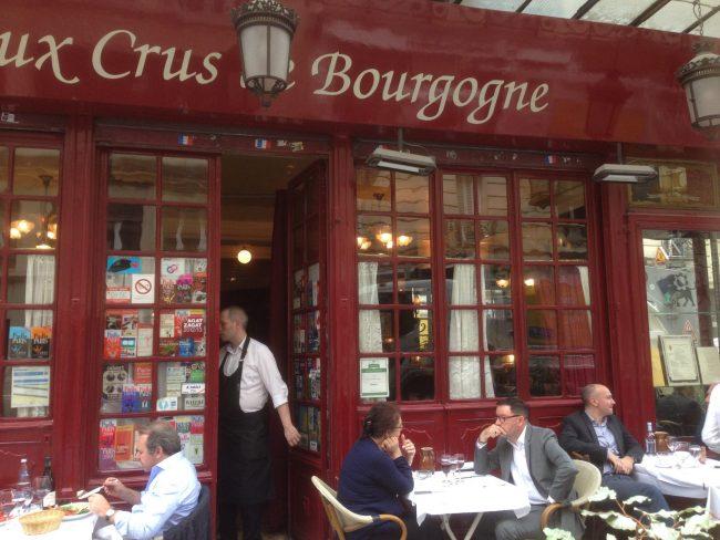 au crus de Bourgogne